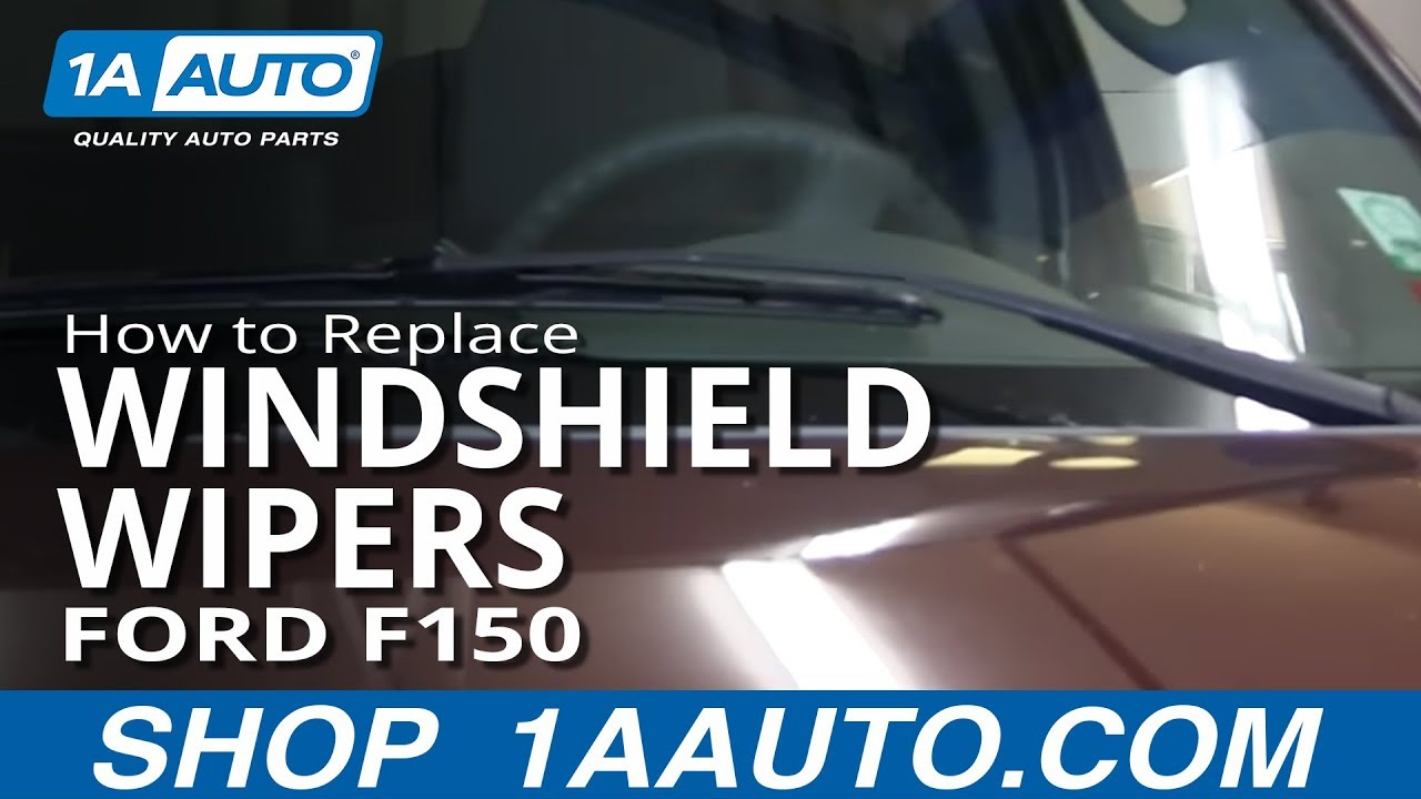 How To Replace Windshield Wipers 04 11 Ford F150 Youtube