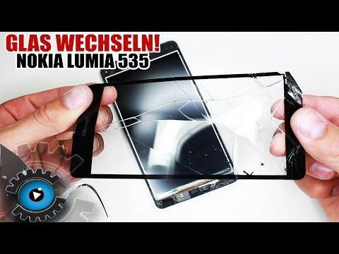 Nokia Lumia 535 Glas Digitizer Wechseln Tauschen unter 20€ Reparieren [Deutsch/German]