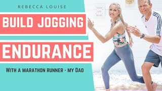 Runners CARDIO challenge with my DAD - get your heart rate up! | Rebecca Louise