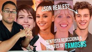 DENTISTA REACCIONA A DIENTES DE FAMOSOS #2 🔥 / Shawn Mendes / Superholly / Ariana Grande