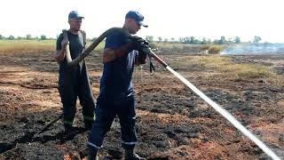 видео Хмельницька область: рятувальники ліквідували пожежу торфу