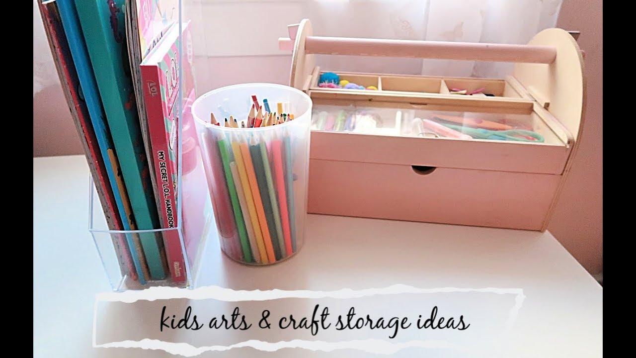 Kids Arts And Craft Storage Ideas You