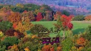 Surat 'Abasa - Recitation by Ahmad Saud