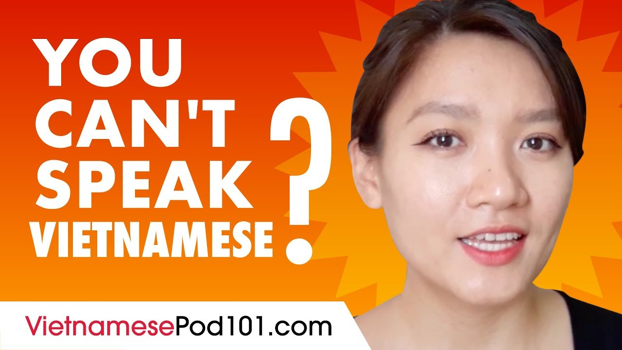 If You Understand Vietnamese But Can't Speak it...This video is for You!