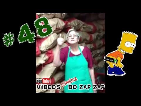 Vídeos Comédia do Zap Zap #48 Eu Sou a Vó do Carvão !!!