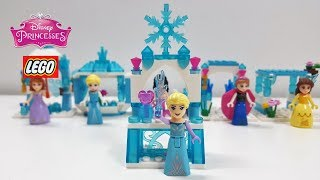 ♥ LEGO Disney Princess Speed Build Play Review - Elsa (Frozen)