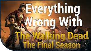 GAME SINS | Everything Wrong With The Walking Dead: The Final Season