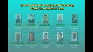 Food Processing & Technology Journals OMICS Publishing Group