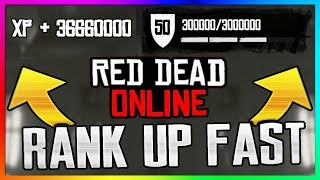 *NEW* Red Dead Online UNLIMITED XP Glitch! | How To LEVEL UP FAST & SOLO (Exploit/Method/Farm)