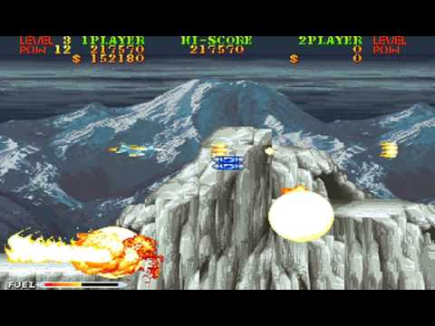 Carrier Air Wing (arcade) - finished 1 coin M.A.M.E. replay