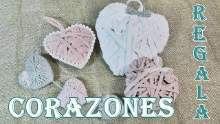 3 Corazones para regalar. Dia de la amistad. Colaborativo San Valentin