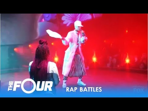 Top 3 Best EPIC RAP BATTLES On The Four 2018 - Who Wins?