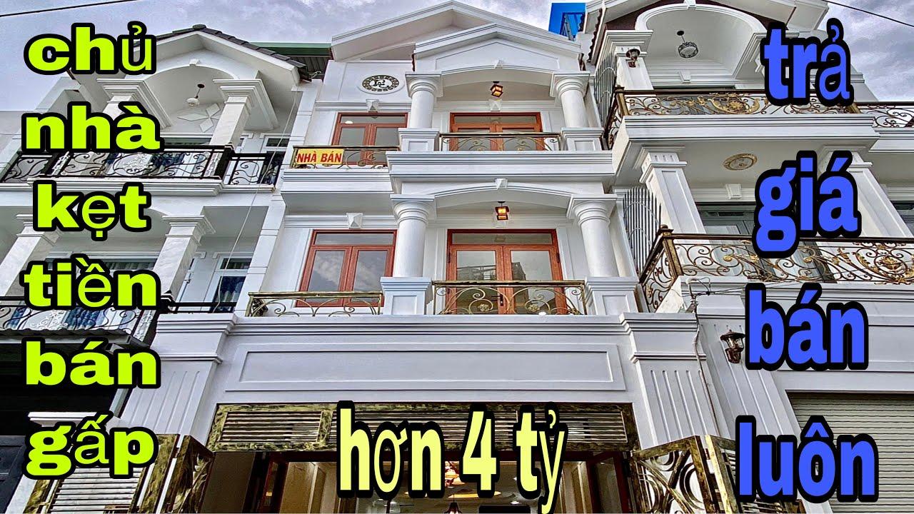 Bán nhà quận 12| Mua ngay căn nhà đẹp 4.4x16m tại đường Lê Thị Riêng P.Thới An sát bên quận Gò Vấp