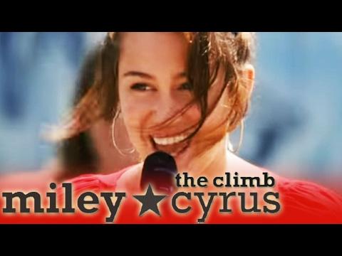 Miley Cyrus: The Climb - Soundtrack of Hannah Montana the Movie | Disney HD