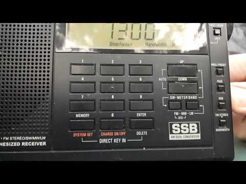 TWR Swaziland received in Romania on 7300 kHz