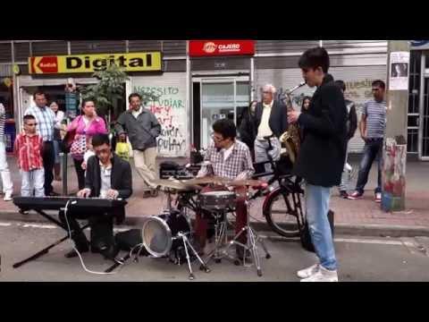 Bogota street jazz