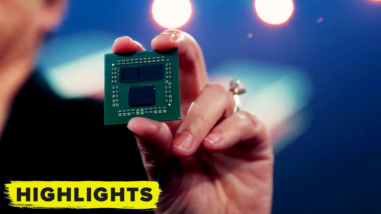 AMD reveals its Future! 3D Chiplet Technology