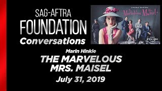 Conversations with Marin Hinkle of THE MARVELOUS MRS. MAISEL