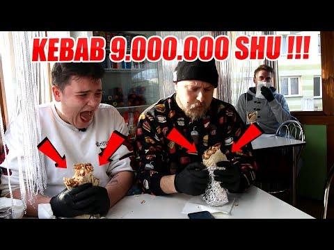 NAJOSTRZEJSZY KEBAB W POLSCE CHALLENGE 9,000,000 SHU