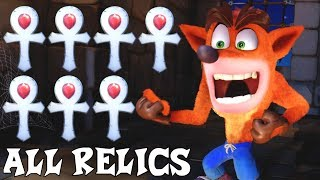 Crash Bandicoot N. Sane Trilogy - All Platinum Relics (DLC Included)