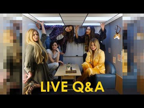 Pretty Little Liars Cast Describes The Last 10 Episodes | Facebook Live Q&A