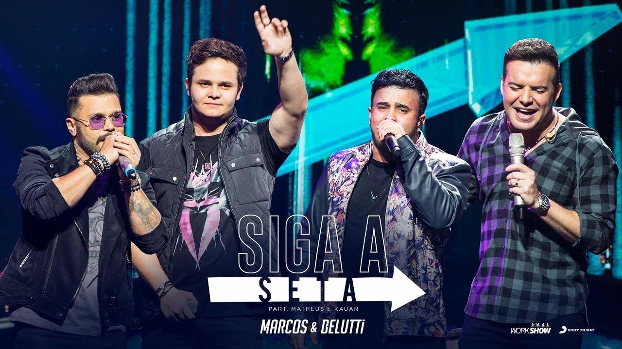 ***** Marcos E Belutti - Siga A Seta Ft. Matheus & Kauan [dvd 10 Anos] *****
