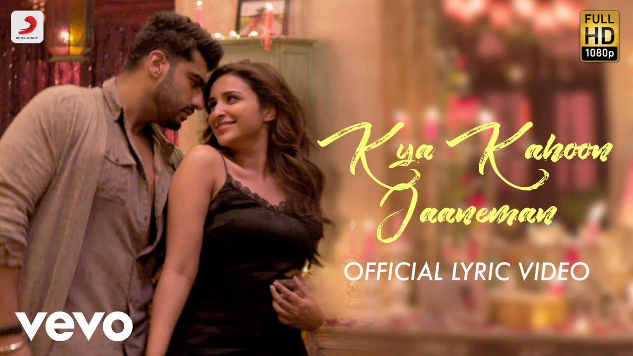 Official Lyric Video | Arjun & Parineeti | Shashaa Tirupati | Mannan Shaah