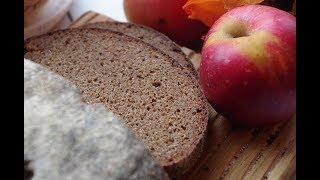 Заварной ржаной хлеб с повидлом и тмином