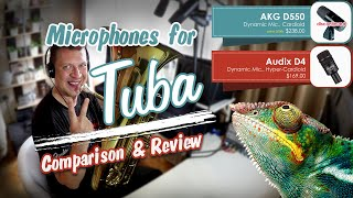 Microphones for tuba, Audix D4 vs AKG D550 - Chameleon (bassline)