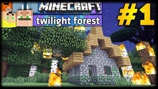 Minecraft TWILIGHT FOREST #1 - Let's Battle mit LPmitKev & ConCrafter