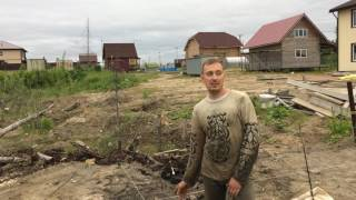 как сделать фундамент для дома на болотистой местности