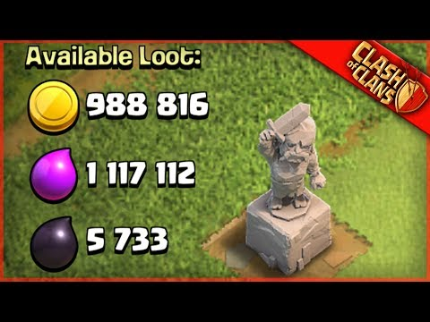 THE LOOT STATUE BRINGS MILLIONS..! ▶️ Clash of Clans ◀️ LEGENDARY LOOTS$$