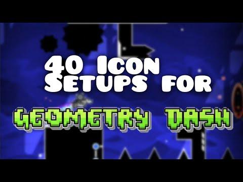 40 BEST Icon Setups!   Geometry Dash 2.11