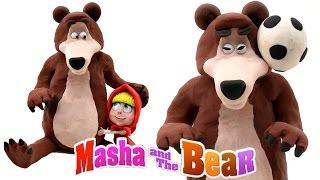 Play Doh Masha and The Bear Stop Motion Animación Playdough Masha i Medved