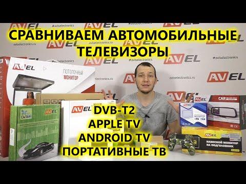 Автомобильные телевизоры с DVB T2 и Smart TV. Обзор и варианты создания телевизора в автомобиле