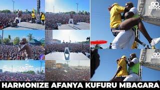 Ni Zaidi ya KUFURU Alichokifanya Harmonize Mbagala/Amgoma Kuimba Nyimbo za Diamond/Aimba UNo na HBAB