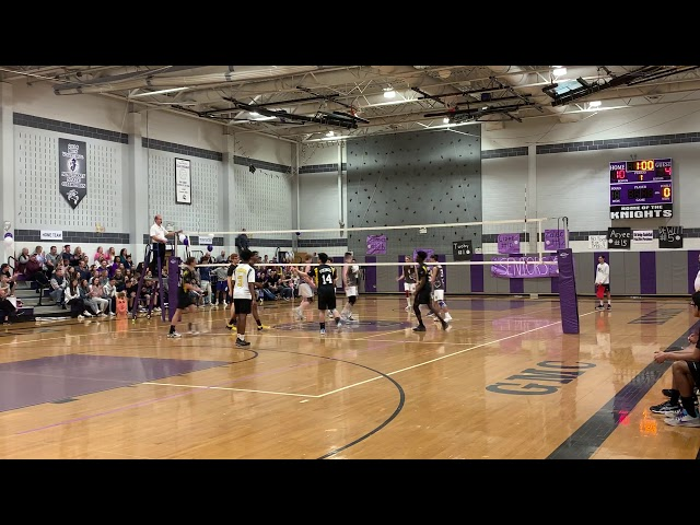 2019 NJ Boys Volleyball, South Brunswick at Old Bridge, Game1