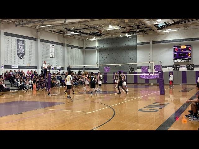 2019 NJ Boys Volleyball, South Brunswick at Old Bridge, Game1