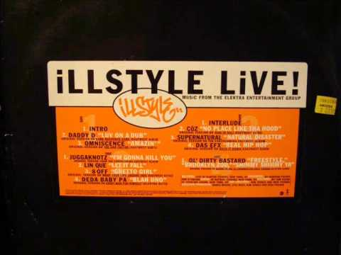 Ol' Dirty Bastard - Ill Style Live (1995) feat. Buddha Monk and 60 Second Assassin