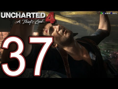 UNCHARTED 4 A Thief's End Walkthrough - Part 37 - Story 20: No Escape