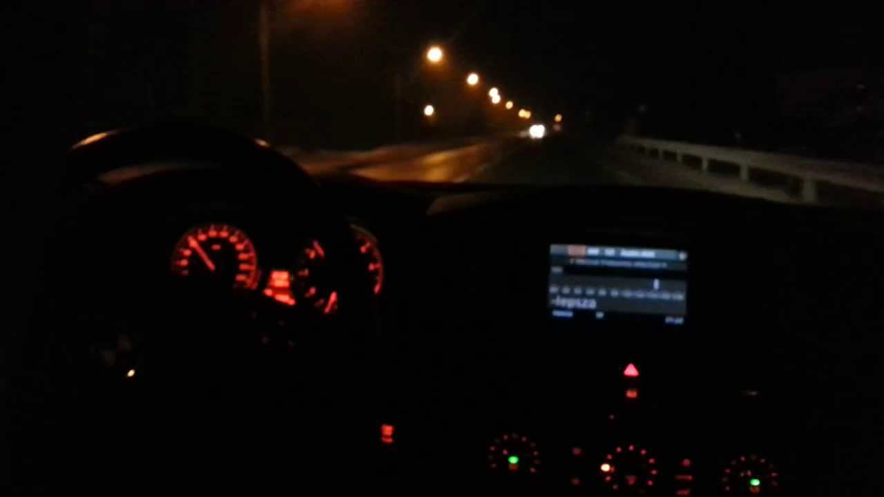 Night Rider Car Wallpapers Bmw 520i Lci E60 Night Ride Youtube