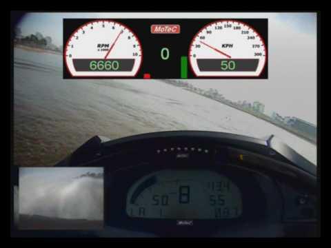 MoTeC Yamaha Jet Ski : ECU Testing