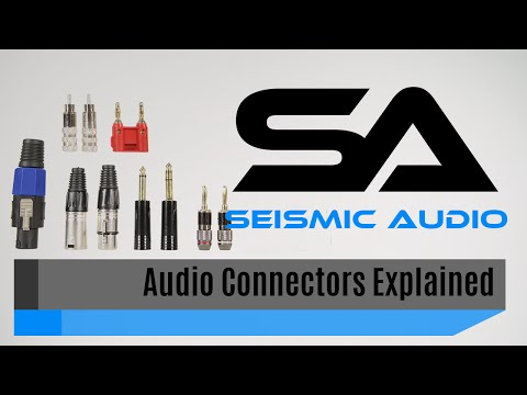 Seismic Tips - Connector Types Explained