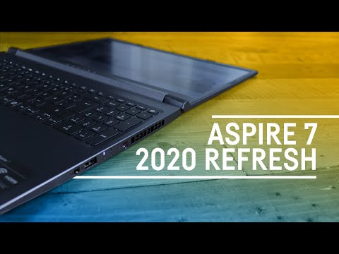 Acer Aspire 7 (2020) GTX 1650ti - Review
