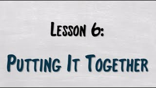 SightSinging Level 1 - Lesson 6: Putting It Together!