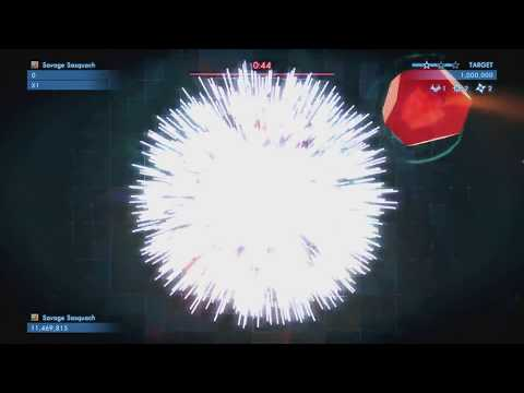 Geometry Wars 3 Dimensions Evolved - Topaz - Final Boss |