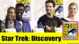 STAR TREK: DISCOVERY | Comic Con 2019 Full Panel (Sonequa Martin-Green, Ethan Peck Rebecca Romijn)