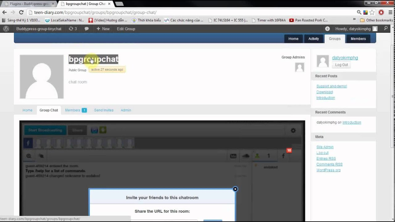 Ifap chat room