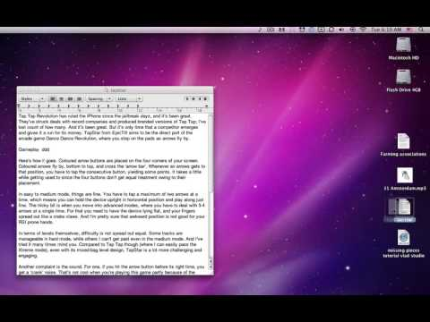 Drag and Drop on your Mac