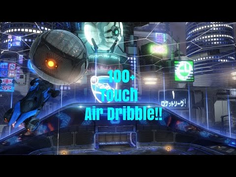 Squishy Muffin Rocket League : Rocket League - 100+ Touch air Dribble!!! - YouTube